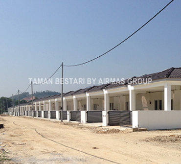 Taman Bestari site progress photo