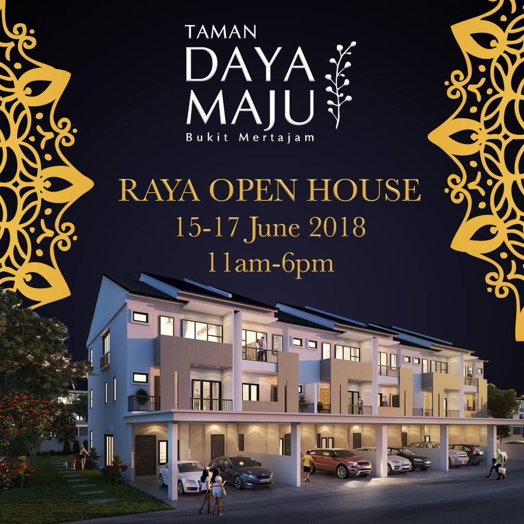 Taman Day Maju Raya open house 2018