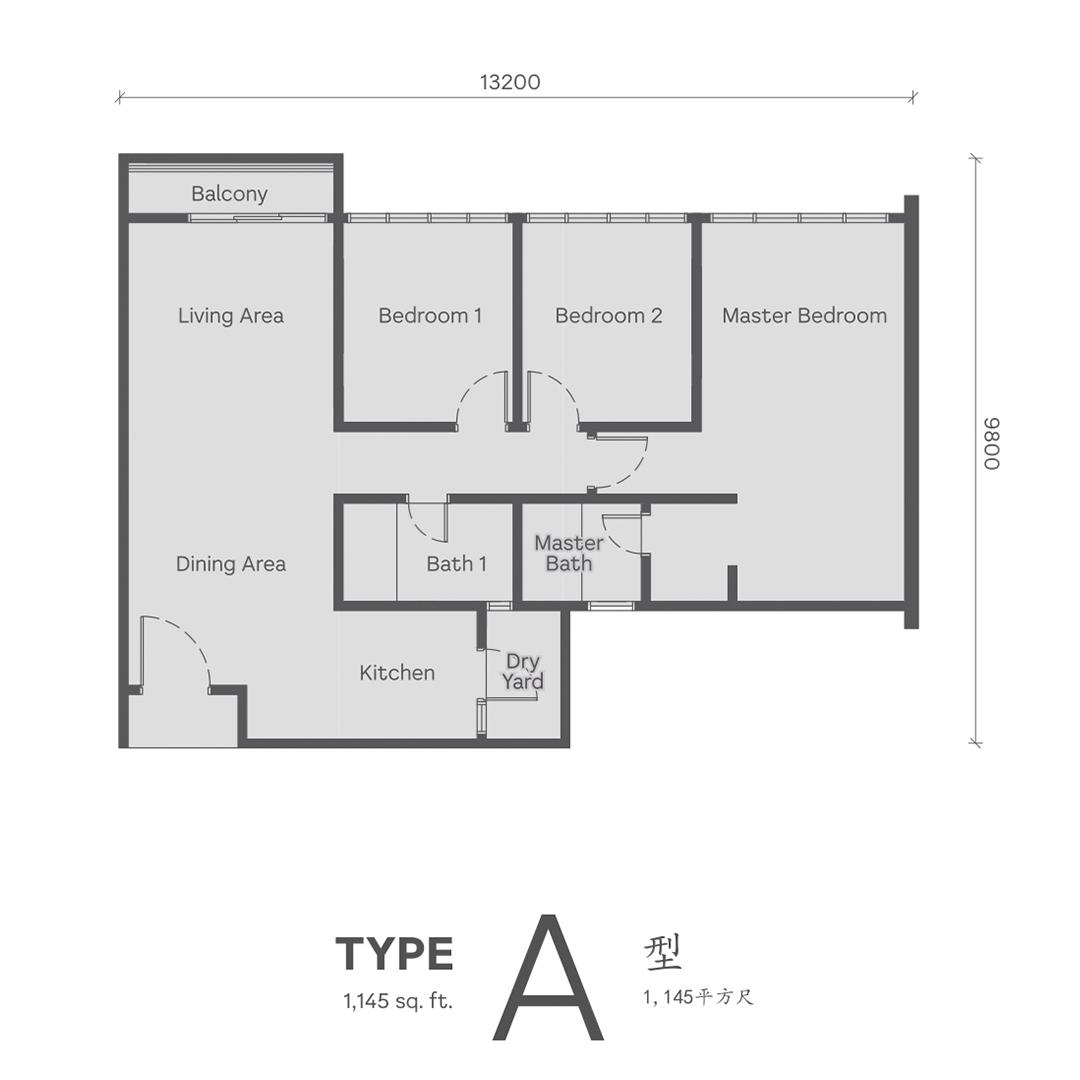 Type A Wellspring Residences site plan