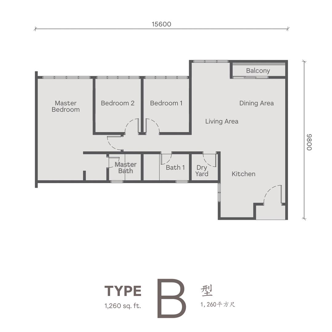 Type B Wellspring Residences site plan