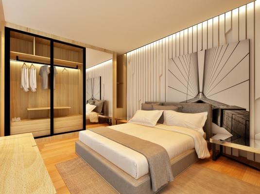 Artis3 master bedroom interior