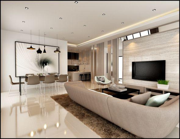 Taman Daya Maju Bukit Mertajam living room