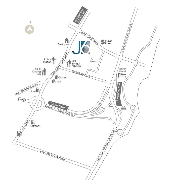 Taman Seri Jerjak location map