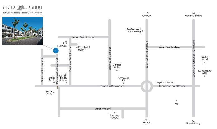Vista Jambul location map