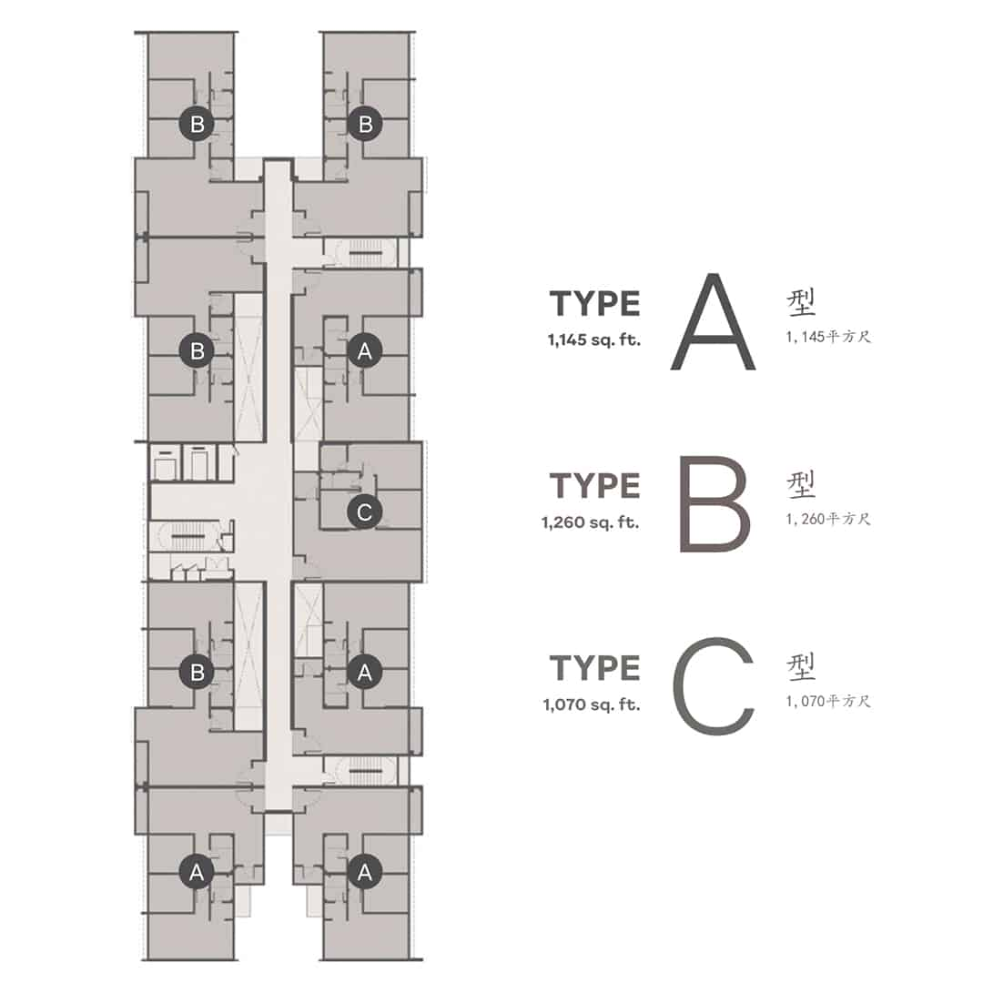 type of Wellspring Residences site plans