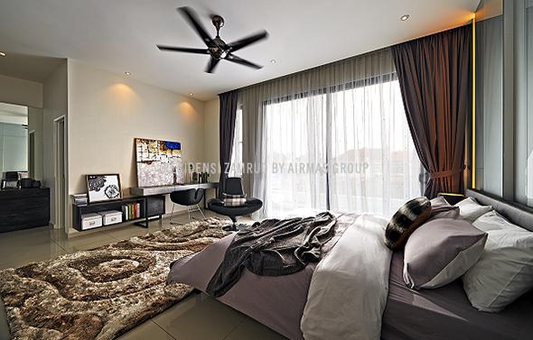 Residensi Zamrud bedroom