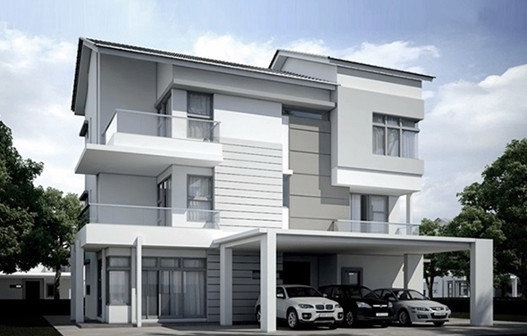 Taman Seri Jerjak 2 storey bungalow property