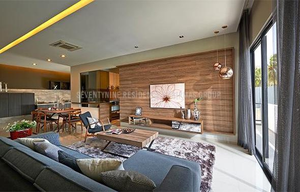 SeventyNine Residence living room