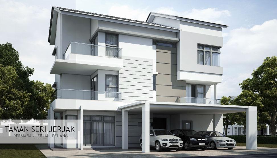 Taman Seri Jerjak 3 storey bungalow
