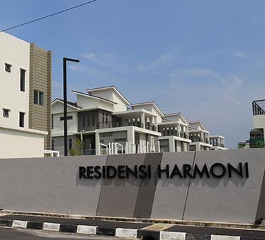 Residensi Harmoni entrance