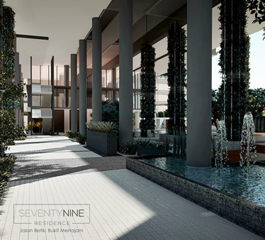 SeventyNine Residence corridor