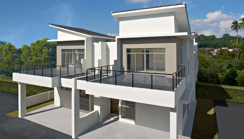 Residensi Harmoni Jalan Betik, Bukit Mertajam 2 storey semi-D