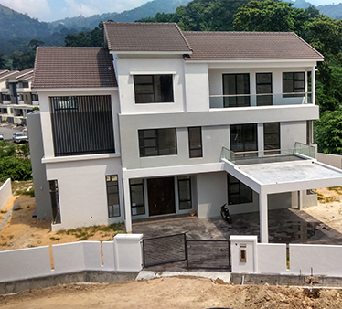Summerhill Villas 2 site progress photo