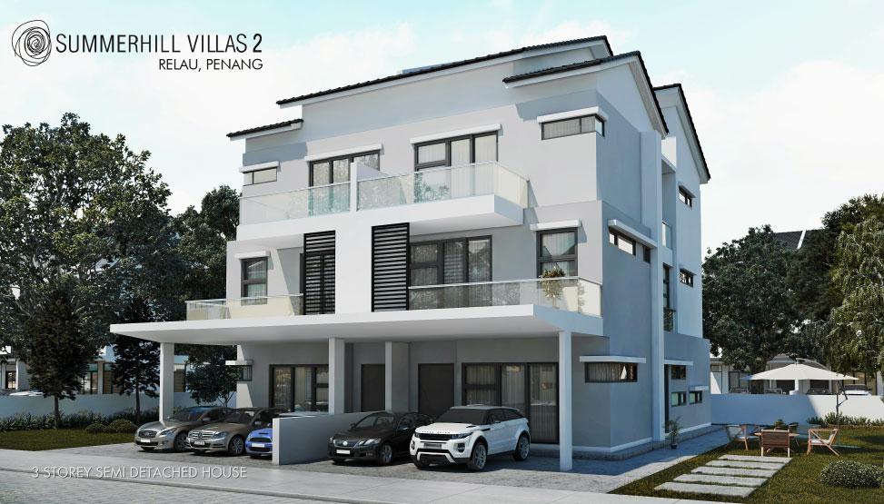 Summerhill Villas 2 Relau, Penang logo