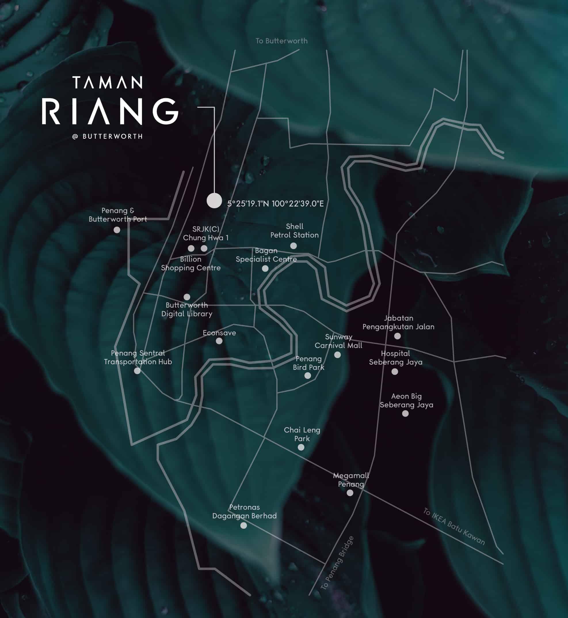 taman riang map
