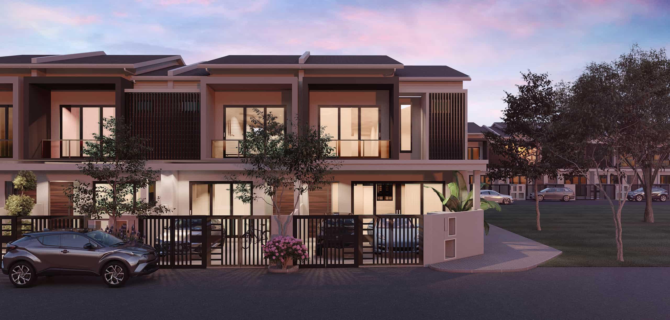 taman riang terrance house