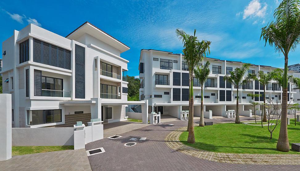 Vista Jambul 3 storey bungalow/terrace properties
